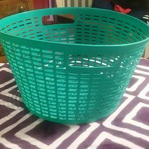 Small plastic basket